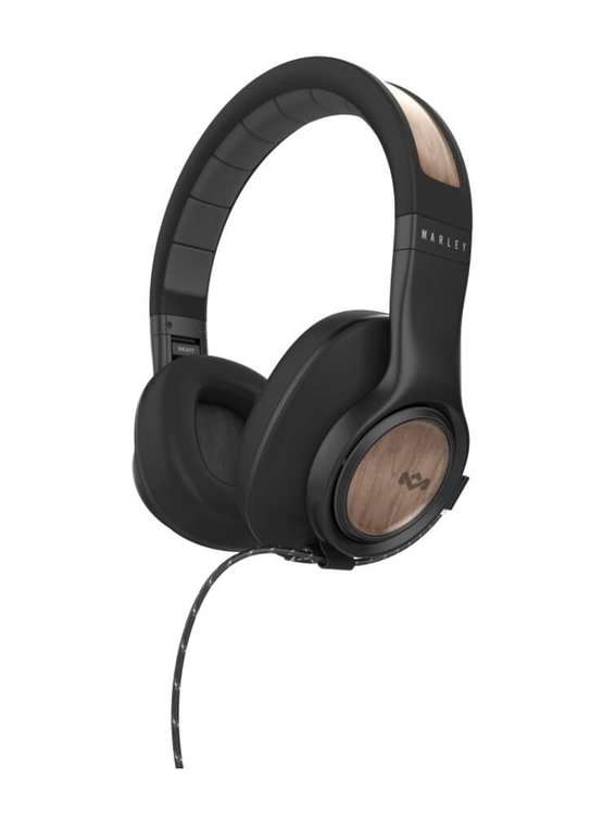 Marley Legend Over-Ear Active Noise Cancelling Kopfhörer mit 3-Button Remote/Mic - Midnight