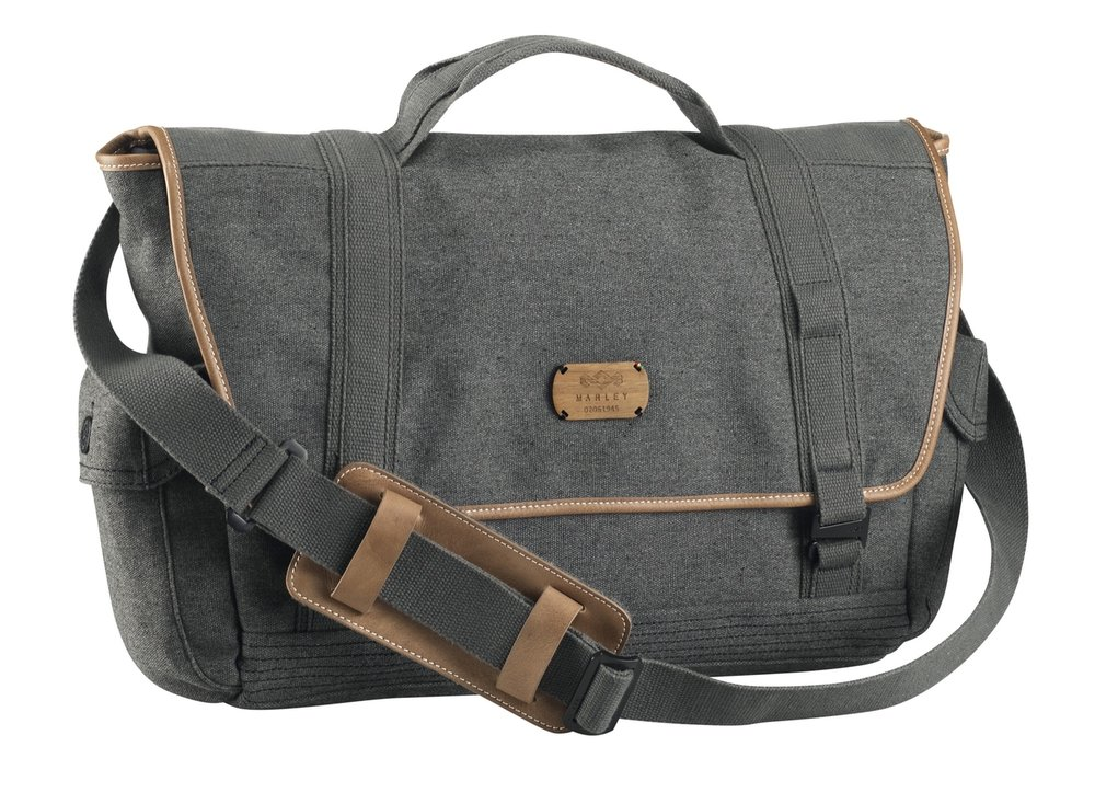 Marley Lively Up Leather Messenger - Harvest