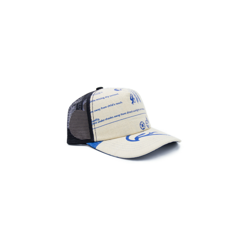 RECYCLING CAP - Diamant Blue 3