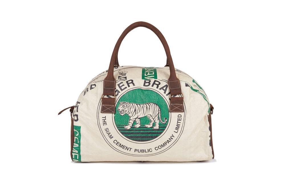 Recycling Reisetasche (Weekender) - Green Tiger