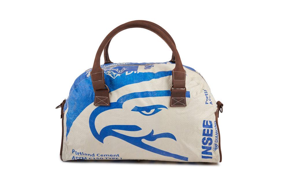 Recycling Reisetasche (Weekender) - Blue Eagle