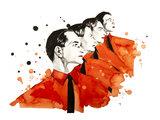 Le Ver Kraftwerk Pop Art Design Kratzbaum _