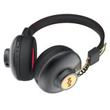 Marley Positive Vibration 2.0 On-Ear Kopfhörer mit 1-Button Remote/Mic - Rasta_