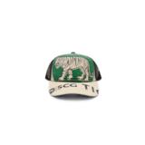 RECYCLING CAP - Green Tiger_