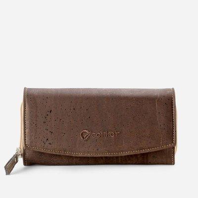 Vegan  Continental Wallet For Women CC