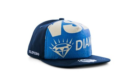 Recycling Cap Cotton - Blue Diamant
