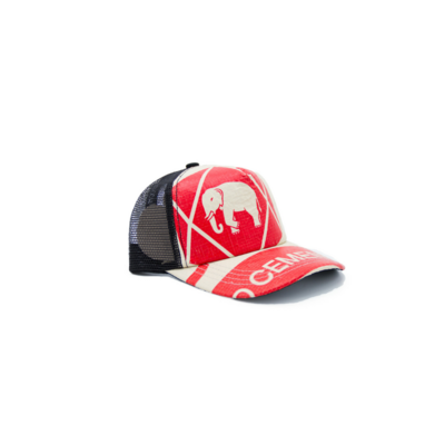 RECYCLING CAP - Red Elephant