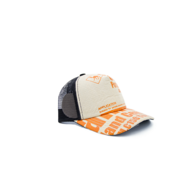 RECYCLING CAP - Orange Camel