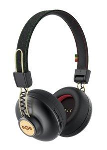 Marley Positive Vibration 2.0 BT Bluetooth On-Ear Kopfhörer mit 1-Button Remote/Mic - Rasta