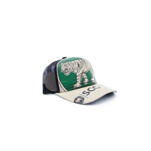 RECYCLING CAP - Green Tiger